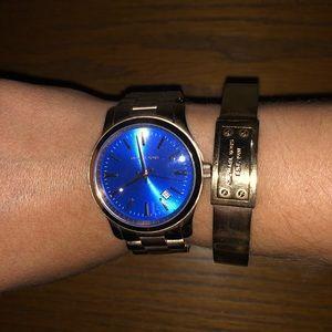 Michael Kors Watch and Bangle Set